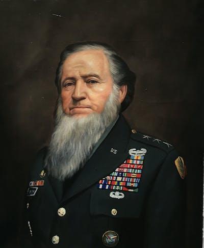 A painting of portrait, facial hair, gentleman, chin, elder, painting, beard, rabbi, self portrait