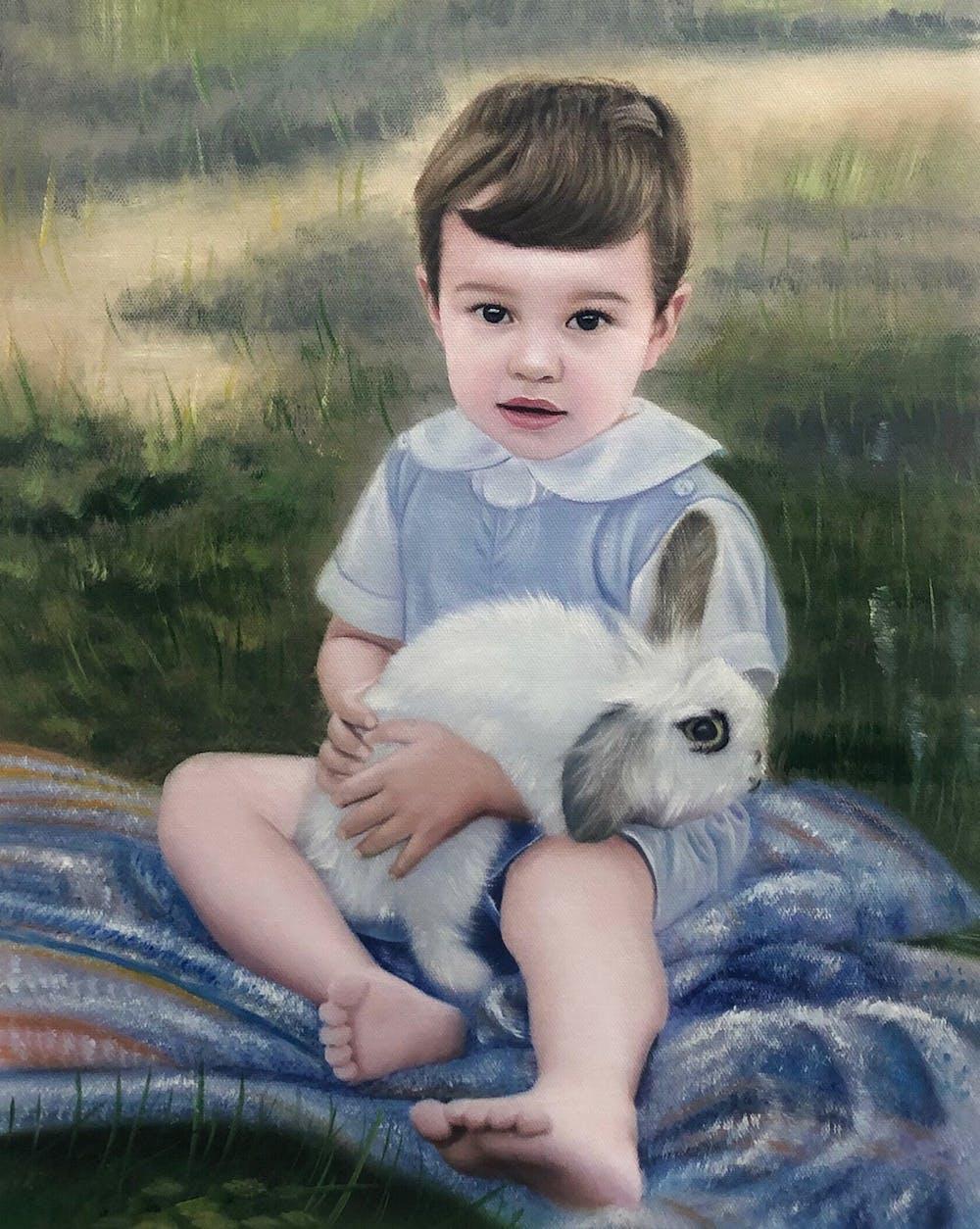 Artist-Rendered Painting